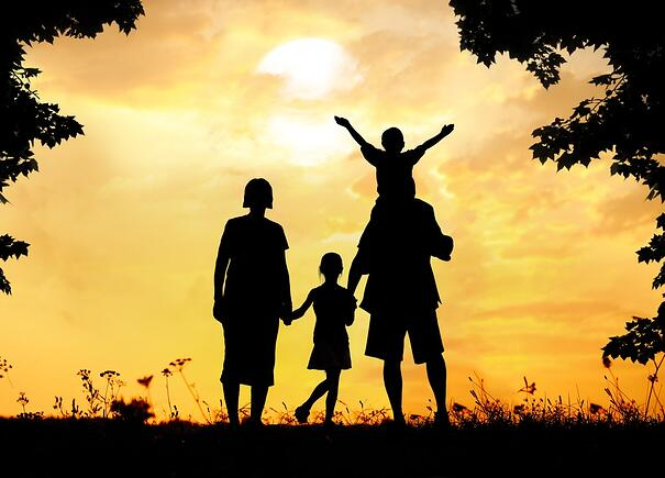 Happy family on sunset in nature.jpeg